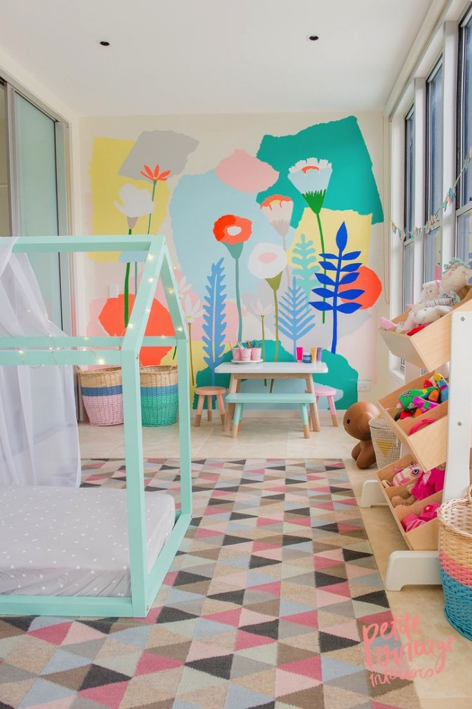 Chicdeco Blog Mini Matisse Walls For Kids Rooms