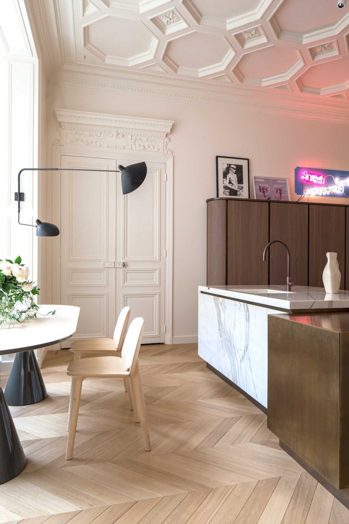 Paris Apartment by Rodolphe Parente