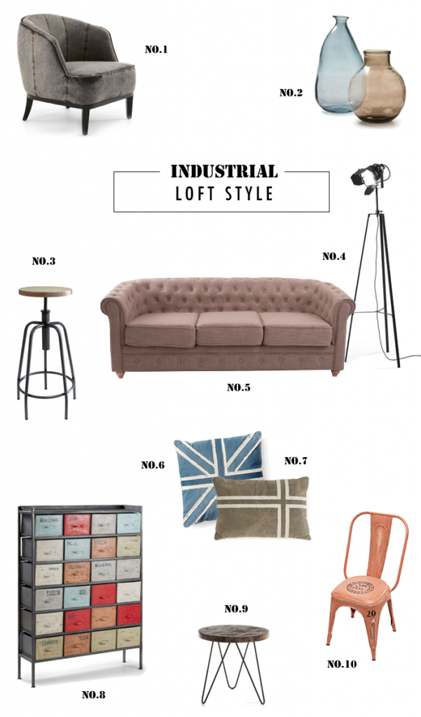 Get the industrial loft look