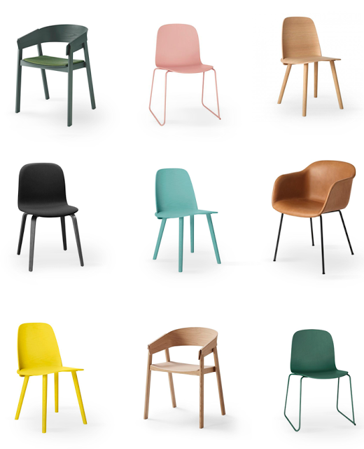 Chicdeco blog new iconic chairs by muuto for Sillas iconicas
