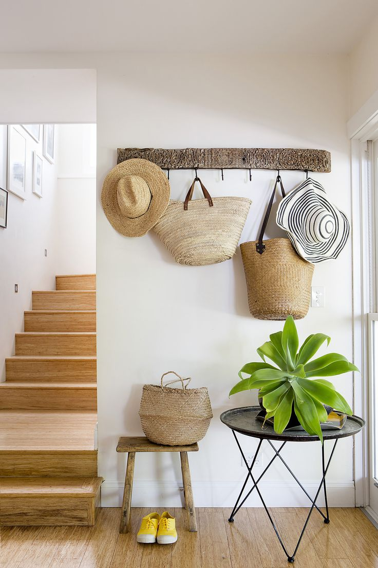 Decorating With Hats Chicdeco Blog Decorating With Straw Hats Bags And Baskets