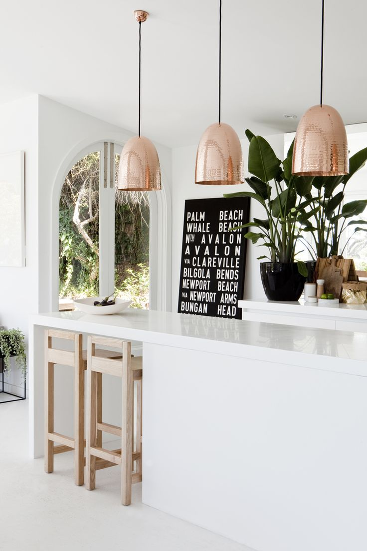 Picture of: Chicdeco Blog Lighting Your Kitchen With Pendant Lights