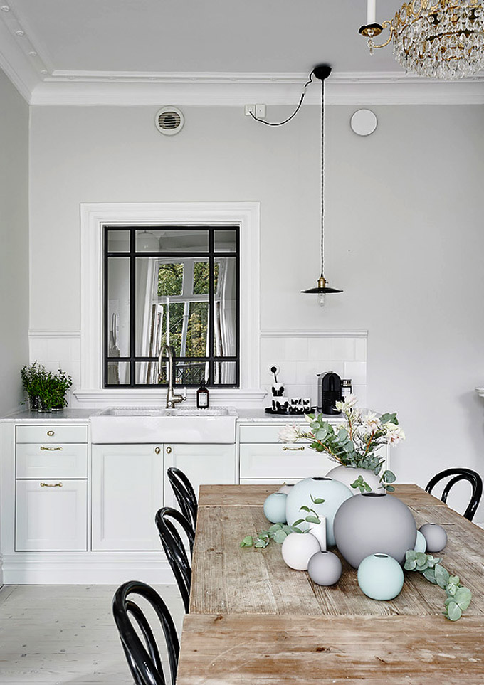 Classic Scandinavian Kitchen
