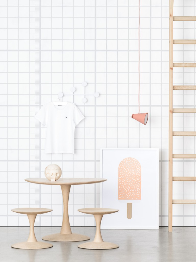 Acne JR wallpaper collection-grid