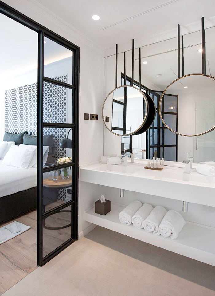 chicdeco blog weekend scapes the serras hotel in barcelona. Black Bedroom Furniture Sets. Home Design Ideas