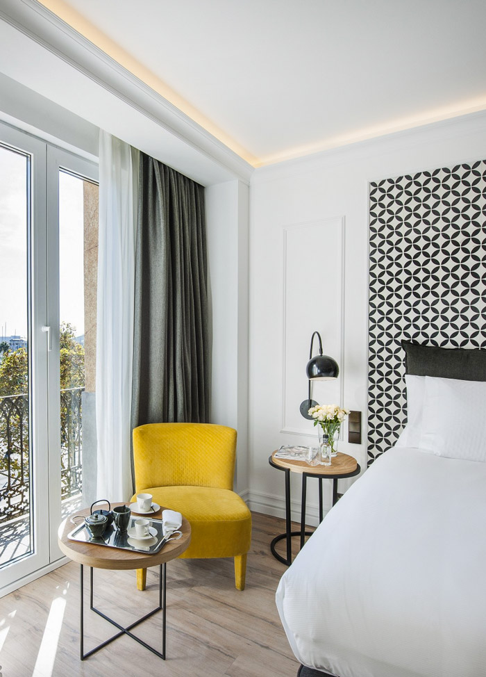 Weekend scapes the serras hotel in barcelona decoration for Boutique hotel barcelone