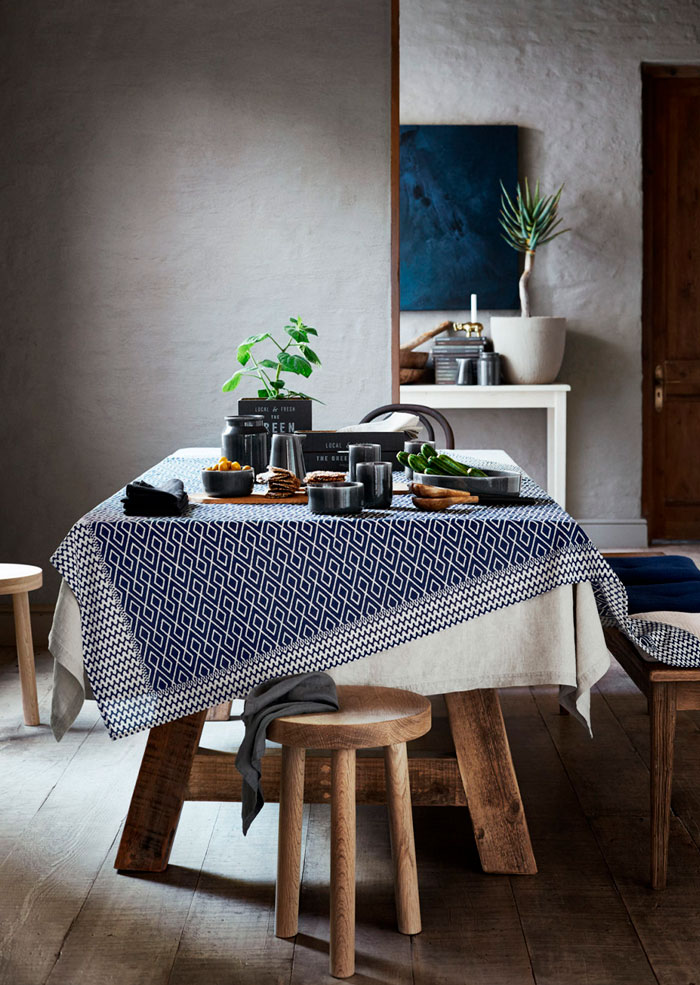 Indigo Rustic Look by H&M Home