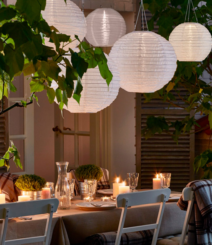 Outdoor Party Lights Ikea: Photography, Interiors, Design, Styling