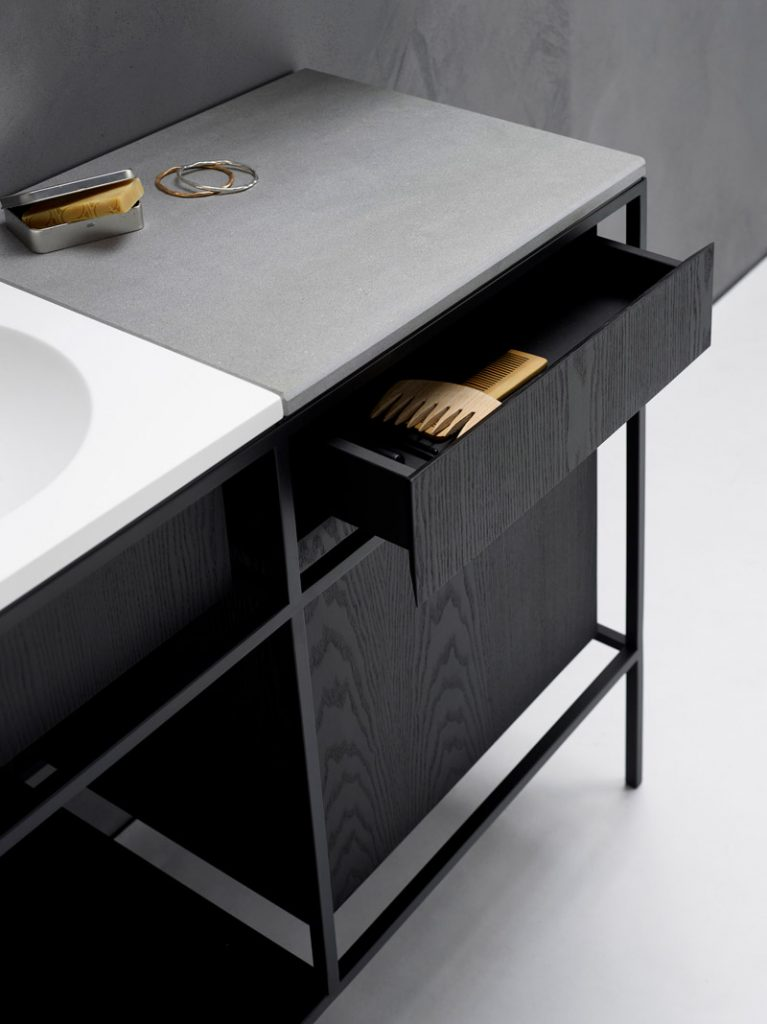 Frame and Rest-vanity by Norm Architects