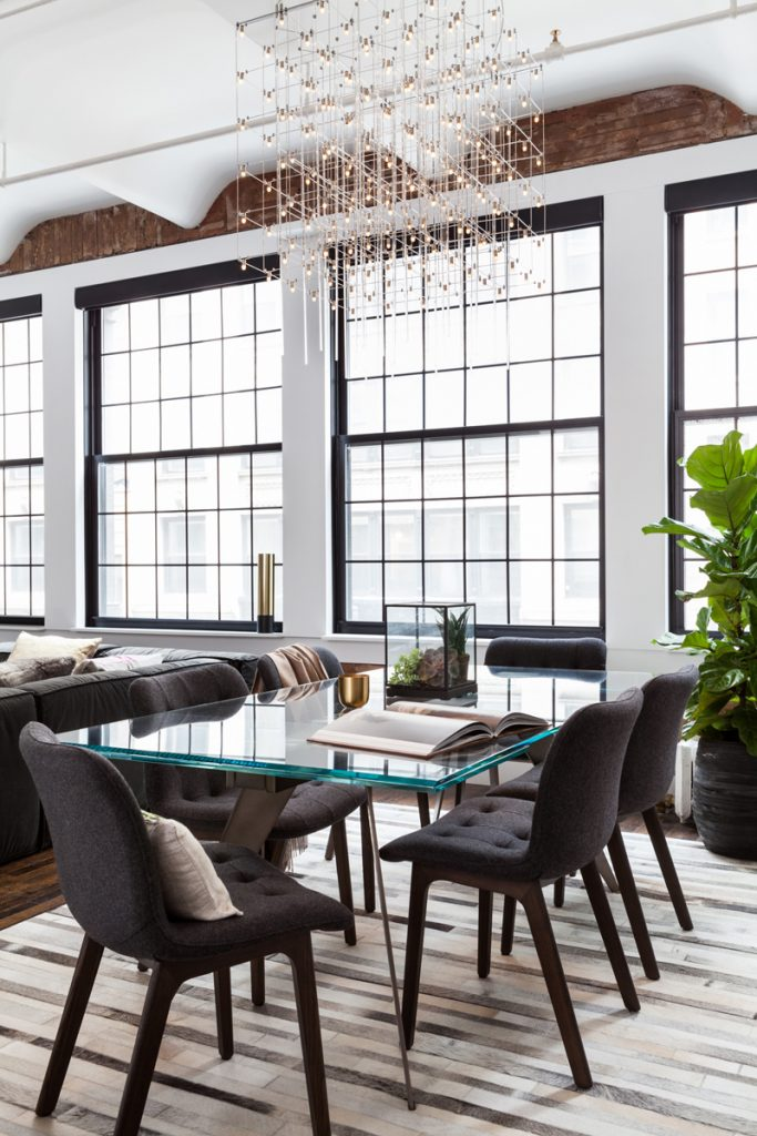 Industrial loft in New York