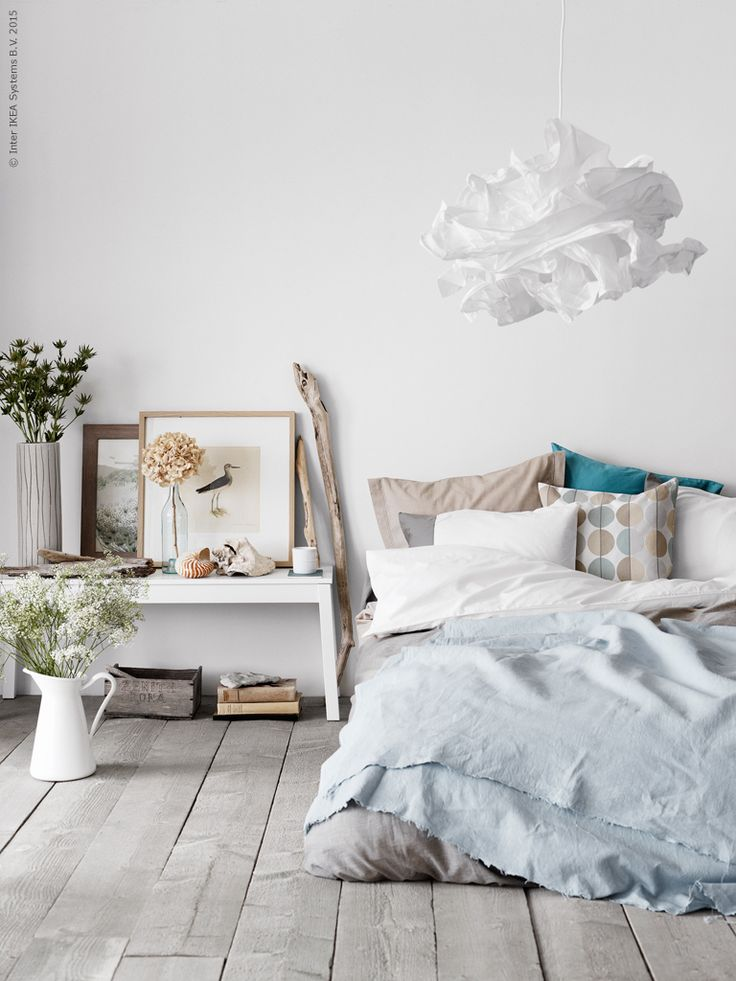 How to create a fresh bedroom in summer - Decoration