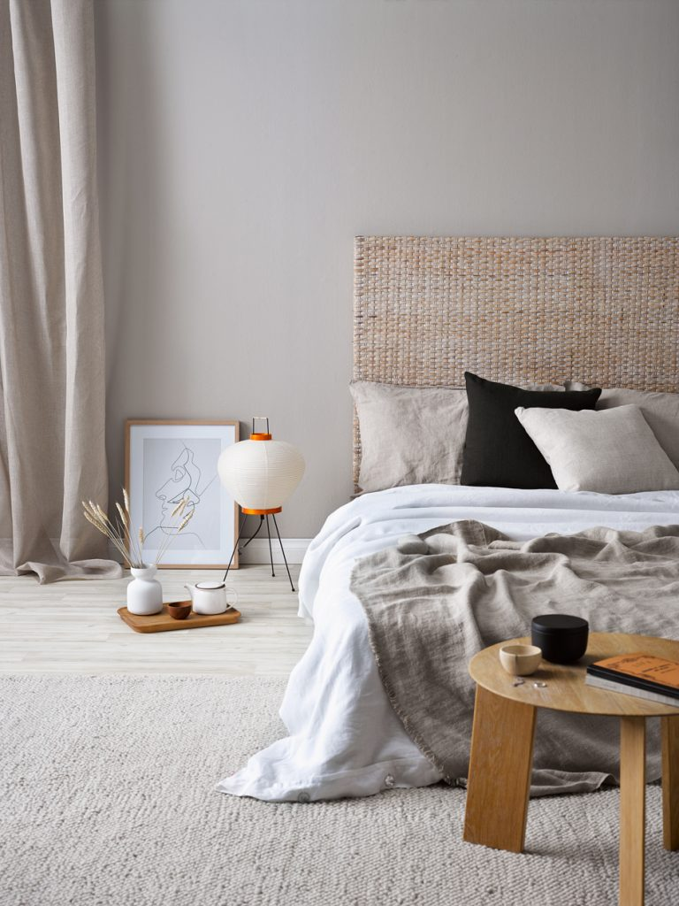 Maison Du Monde Terrazzo chicdeco blog | 7 ways to add rattan to your bedroom